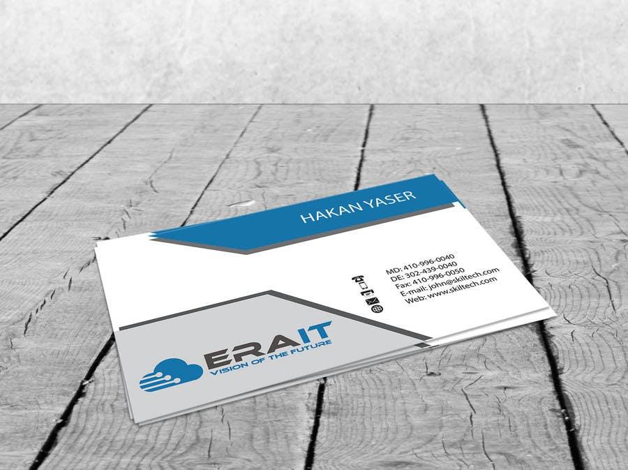 Penyertaan Peraduan #33 untuk Business Card