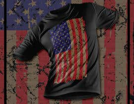#100 for Distressed US Flag Patriot T-Shirt Design - 27/01/2021 02:53 EST by mohonamm13