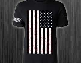#102 for Distressed US Flag Patriot T-Shirt Design - 27/01/2021 02:53 EST by azmiridesign