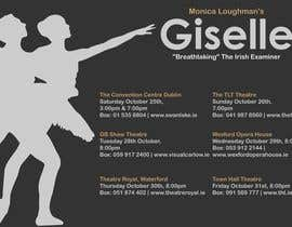 #25 untuk Graphic Design for Ballet Flyer / Poster oleh dinezatwork
