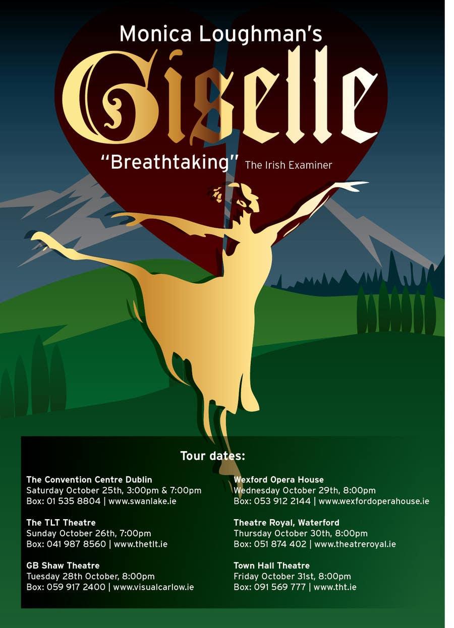 Kilpailutyö #14 kilpailussa Graphic Design for Ballet Flyer / Poster