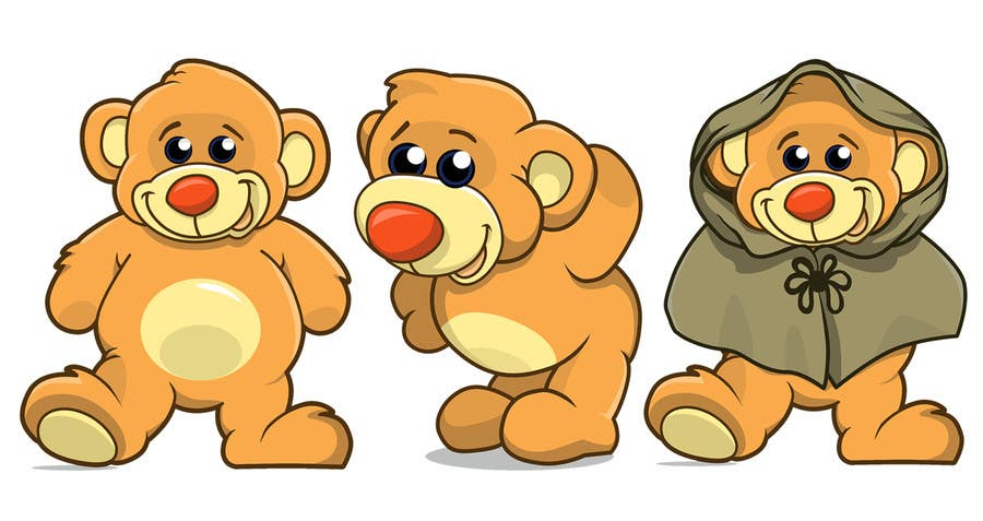 Contest Entry #                                        7                                      for                                         I need some Graphic Design for our app Bear characters