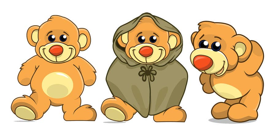 Contest Entry #                                        12                                      for                                         I need some Graphic Design for our app Bear characters