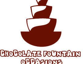 "#50 cho Design a Logo for ""Chocolate Fountain Occasions"" bởi jkhan837"