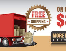 #30 for Create a banner ad for free shipping by felixdaogas