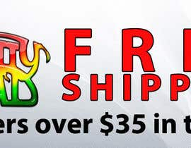 #15 for Create a banner ad for free shipping by designsvilla