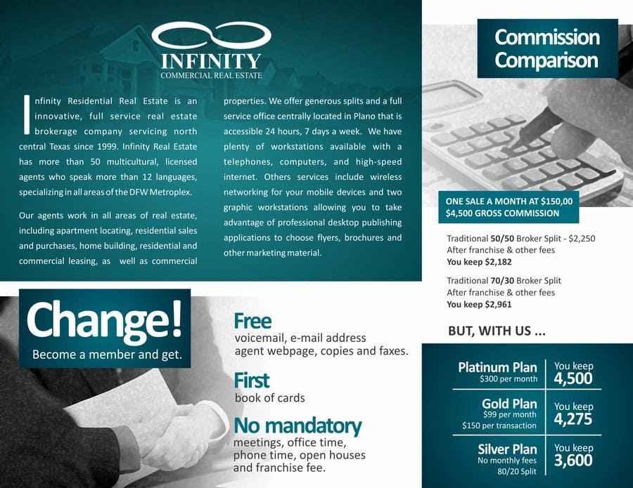 Konkurrenceindlæg #                                        3                                      for                                         Design a Brochure for real estate agent marketing