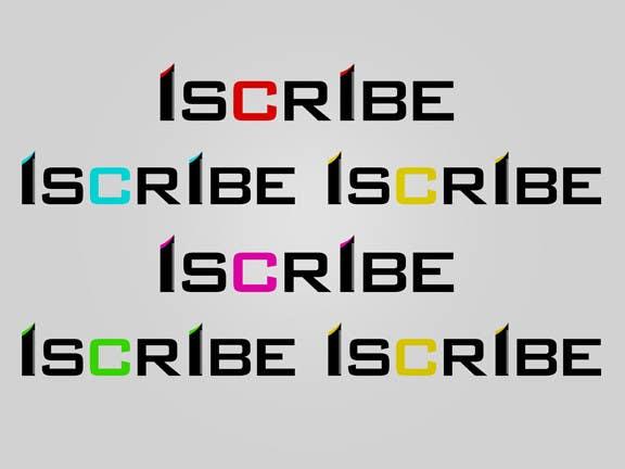 Inscrição nº 17 do Concurso para Logo Design for iScribe