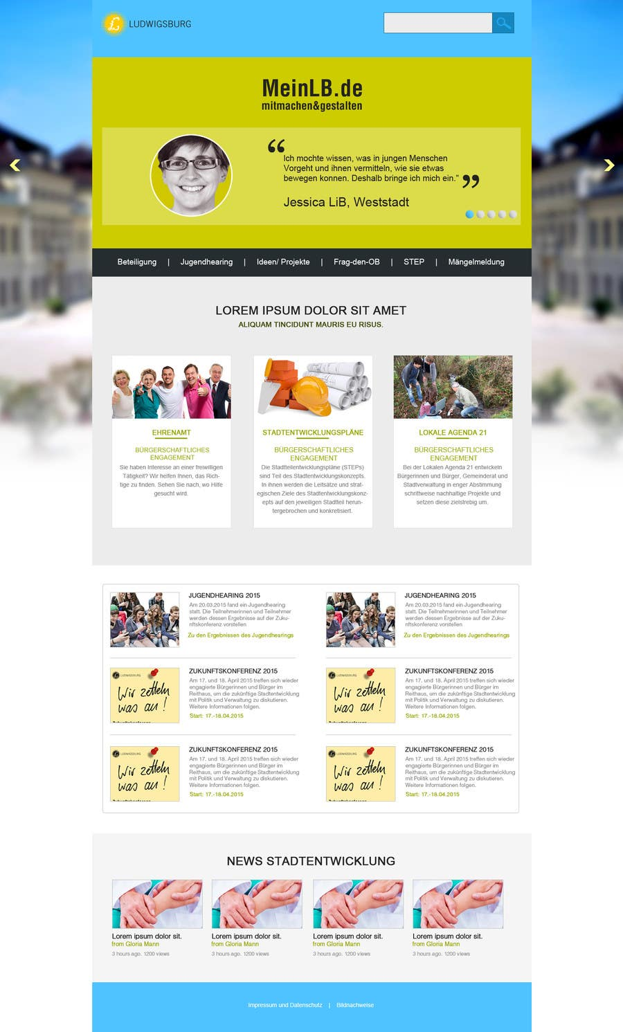 Kilpailutyö #9 kilpailussa Re-Design landingpage of a productive wordpress website
