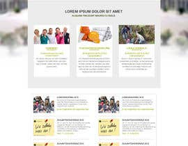 nº 10 pour Re-Design landingpage of a productive wordpress website par aryamaity
