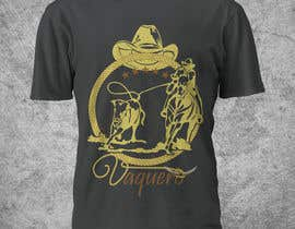 nº 21 pour Design a T-Shirt for Vaquero clothing par Franstyas