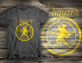 nº 27 pour Design a T-Shirt for Vaquero clothing par dsgrapiko