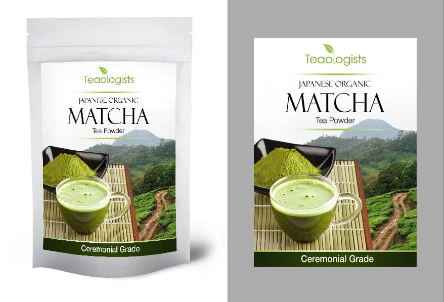 Penyertaan Peraduan #36 untuk Create Packaging Design for Matcha Tea Product