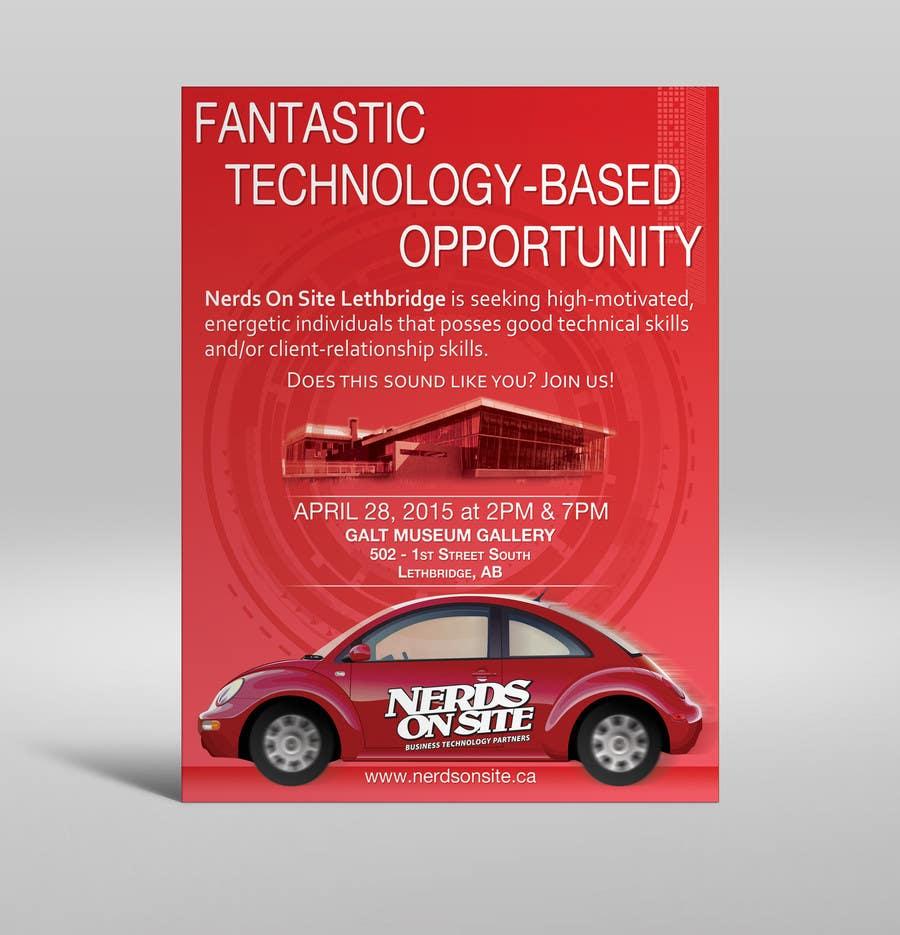 Konkurrenceindlæg #                                        24                                      for                                         Design a Flyer for a Job Fair