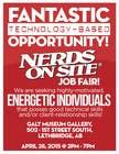Graphic Design Konkurrenceindlæg #50 for Design a Flyer for a Job Fair