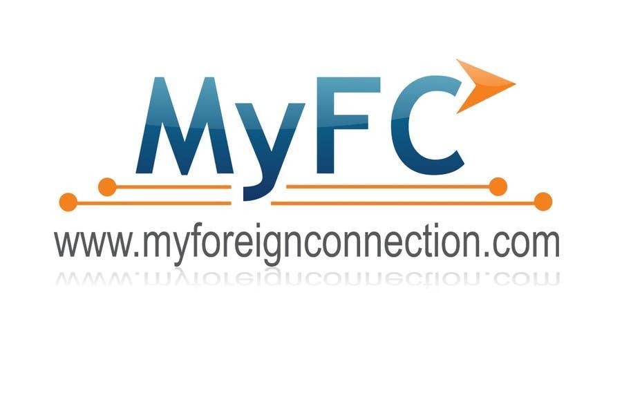 Inscrição nº 134 do Concurso para Logo Design for My Foreign Connection (MyFC)