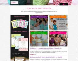 #18 for Design a Website Mockup for planyourbabyshower.com by xsasdesign