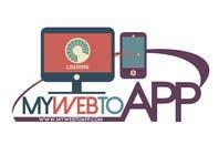 Design a Logo for a webpage mywebtoapp.com için Graphic Design62 No.lu Yarışma Girdisi