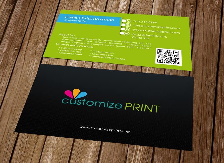 Konkurrenceindlæg #                                        22                                      for                                         Design Business Card With Logo