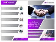 Graphic Design Konkurrenceindlæg #20 for Design a Single Fold Brochure for M2K Consulting