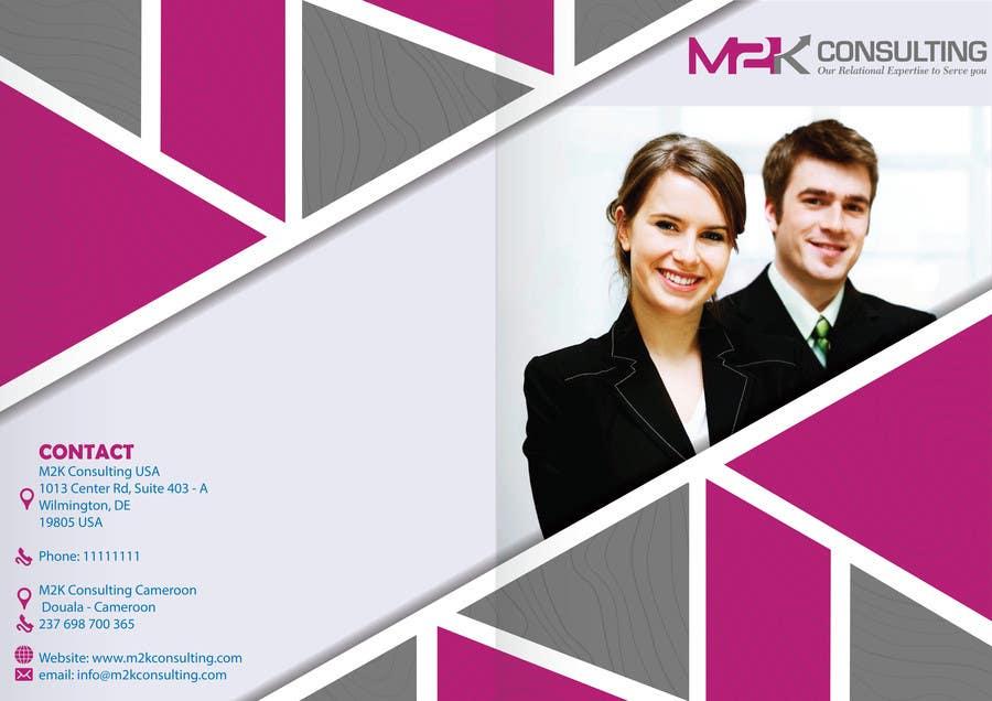 Konkurrenceindlæg #17 for Design a Single Fold Brochure for M2K Consulting