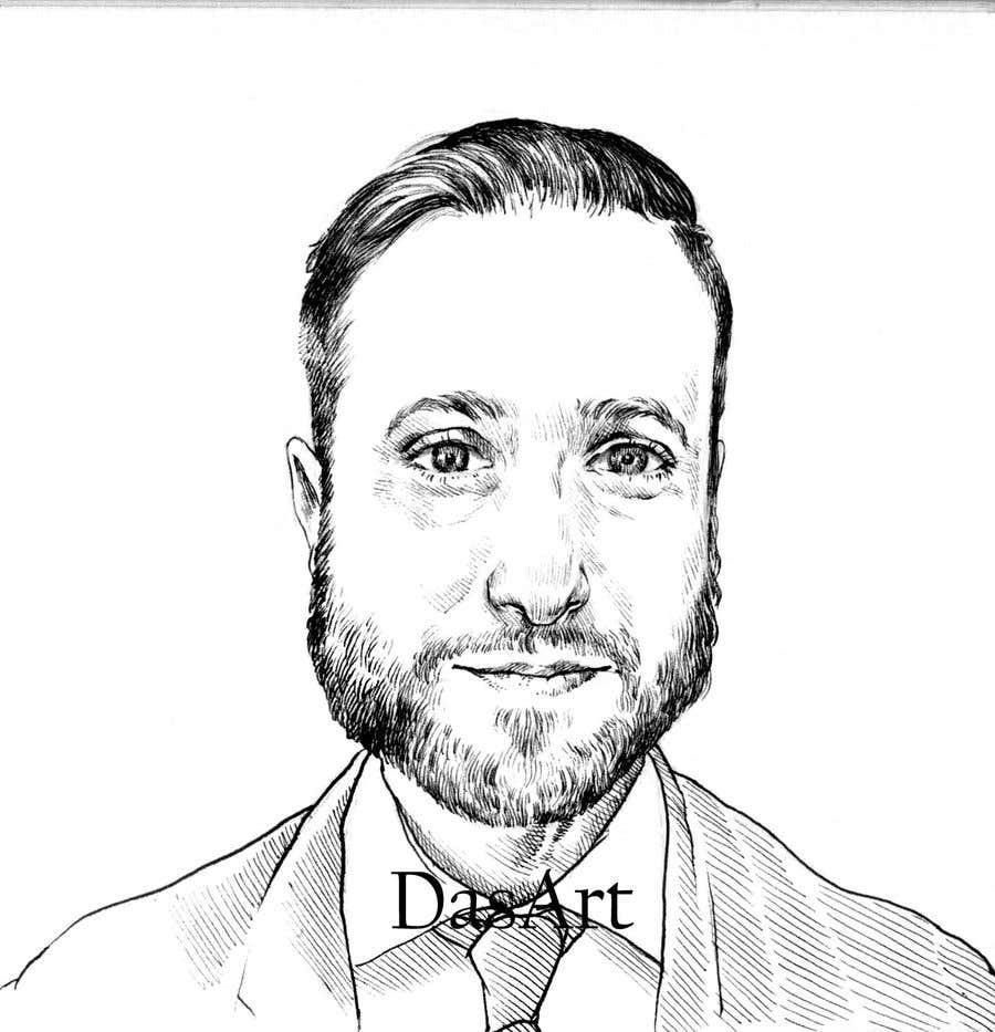 "Intrarea #                                        43                                      pentru concursul ""                                        Ink Portrait Sketch (One Billable Hour @ $30/hour) (Ongoing Opportunity)                                     """