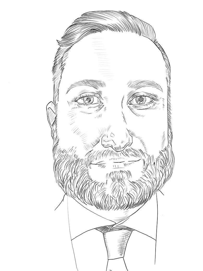 "Intrarea #                                        53                                      pentru concursul ""                                        Ink Portrait Sketch (One Billable Hour @ $30/hour) (Ongoing Opportunity)                                     """
