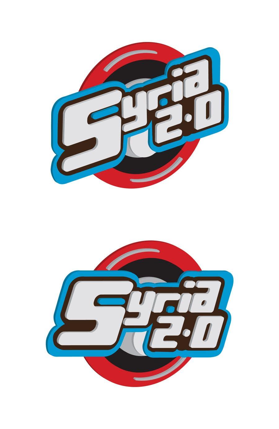 Penyertaan Peraduan #                                        97                                      untuk                                         Logo Design for Syria 2.0