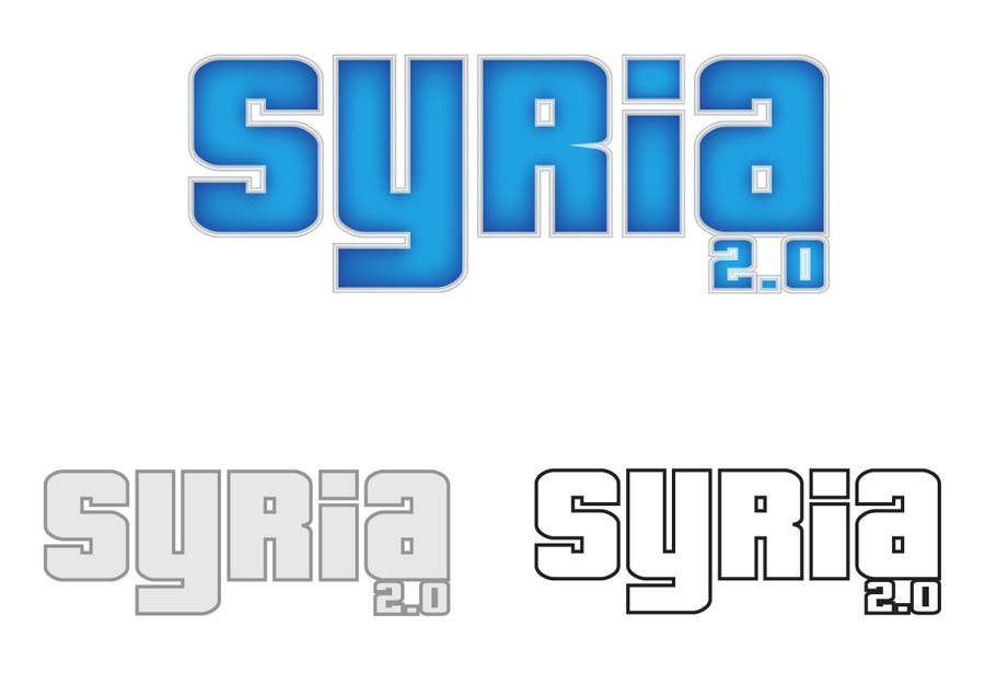 Penyertaan Peraduan #                                        154                                      untuk                                         Logo Design for Syria 2.0