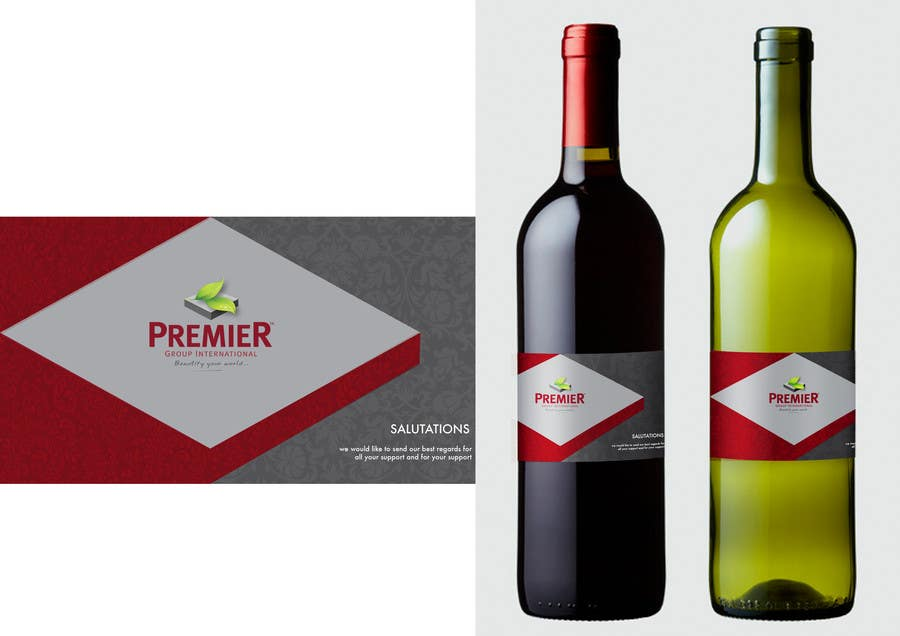 Contest Entry #6 for Wine Label