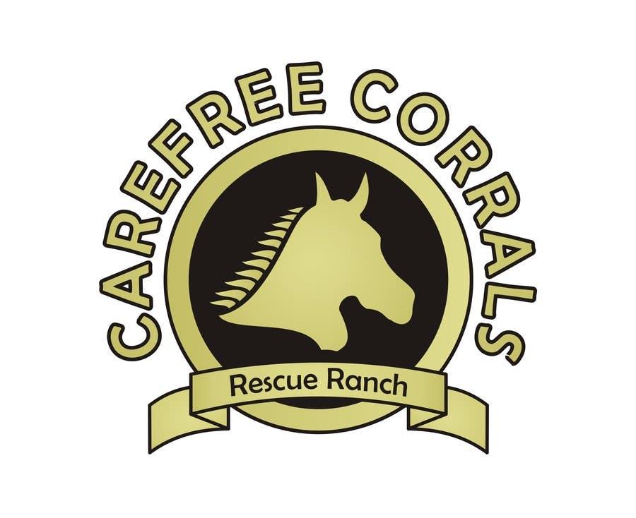 Inscrição nº 14 do Concurso para Logo Design for Carefree Corrals, a non-profit horse rescue.