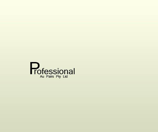 Kilpailutyö #231 kilpailussa Logo Design for Professional Au Pairs Pty Ltd