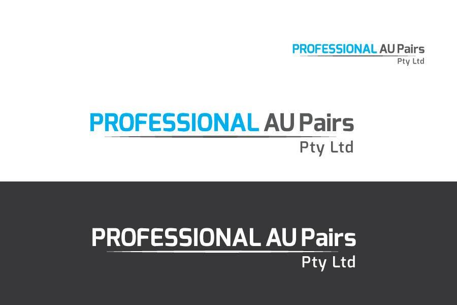 Kilpailutyö #23 kilpailussa Logo Design for Professional Au Pairs Pty Ltd