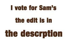 Editing Contest Entry #1 for Vote for, Write, and/or Edit a Persuasive Email