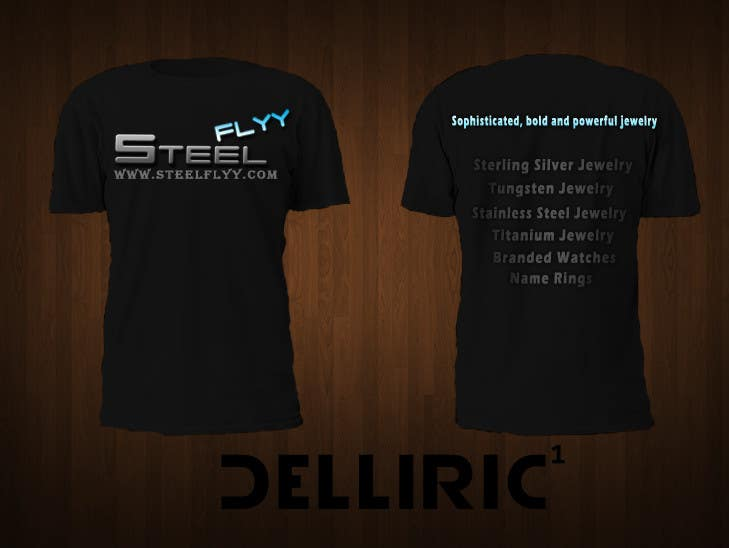 Inscrição nº                                         36                                      do Concurso para                                         T-shirt Design for SteelFlyy.com