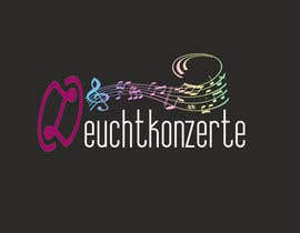 Nro 8 kilpailuun Design eines Logos für Leuchtkonzerte käyttäjältä aminmatcune