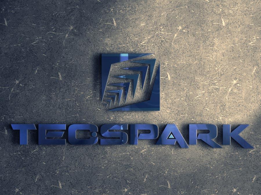 Konkurrenceindlæg #                                        7                                      for                                         TECSPARK Corporate Identity