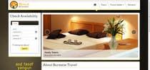 Graphic Design Inscrição do Concurso Nº129 para Logo design for a travel website about Burma (Myanmar)