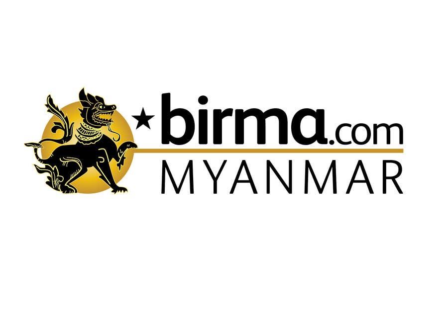Konkurrenceindlæg #                                        205                                      for                                         Logo design for a travel website about Burma (Myanmar)