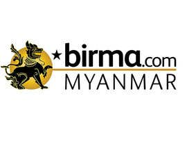 #206 para Logo design for a travel website about Burma (Myanmar) por humphreysmartin