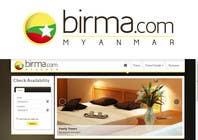 Graphic Design Konkurrenceindlæg #191 for Logo design for a travel website about Burma (Myanmar)