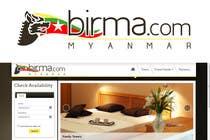 Graphic Design Konkurrenceindlæg #195 for Logo design for a travel website about Burma (Myanmar)