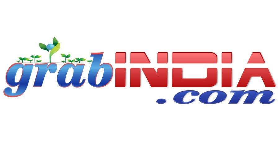 Konkurrenceindlæg #                                        76                                      for                                         Design a Logo for GrabIndia.com