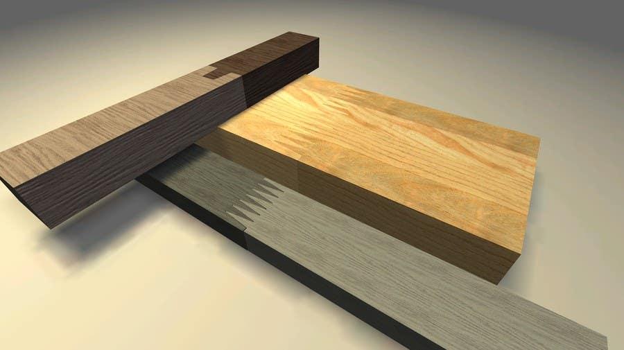Konkurrenceindlæg #                                        63                                      for                                         Realistic 3D modelling - Sawed Wood profiles