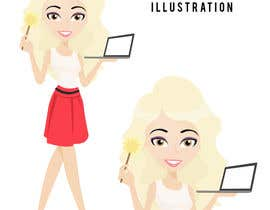 nº 1 pour Illustrate a cartoon of me for my photoshop services website par lilmermaaaid