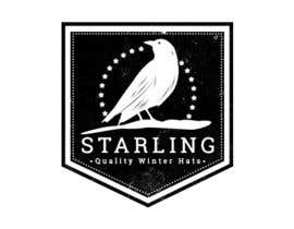 #97 untuk Redesign the logo for Starling winter hats company. oleh HagerAlaa