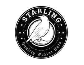 #104 untuk Redesign the logo for Starling winter hats company. oleh HagerAlaa