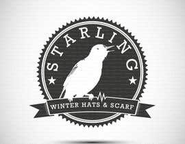 #101 untuk Redesign the logo for Starling winter hats company. oleh kimuchan