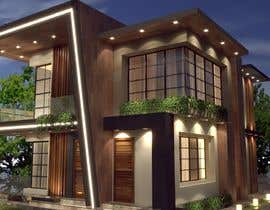 #43 para Exterior Design for a house por meshofreelancer