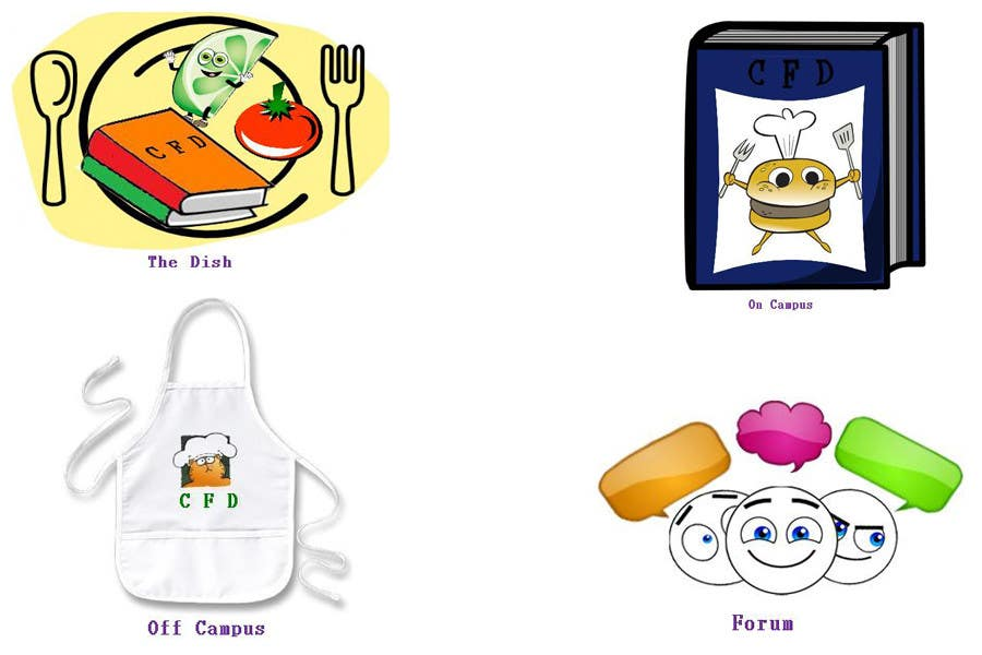 Contest Entry #54 for Icons for food website